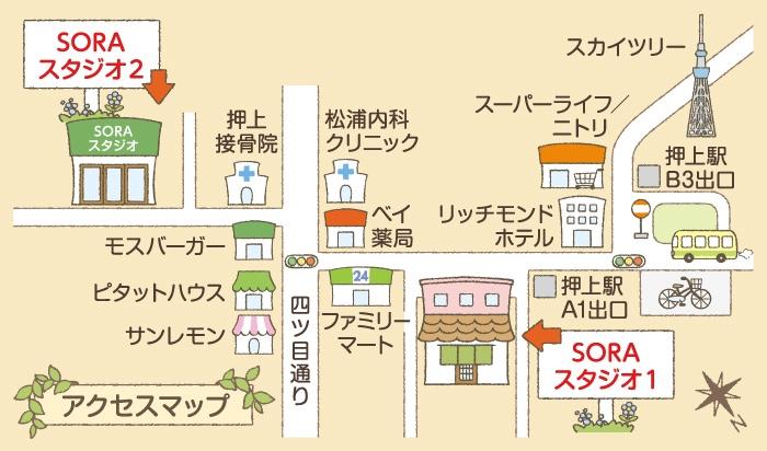 押上駅・東京スカイツリー駅